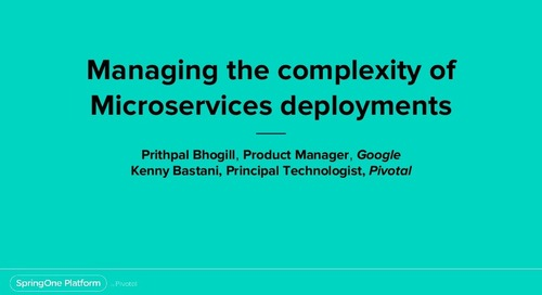Managing the Complexity of Microservices Deployments
