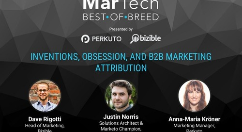 Inventions, Obsessions, and B2B Marketing Attribution