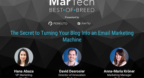 The Secret to Turning Your Blog Into an Email Marketing Machine