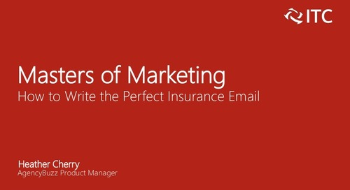 How to Write the Perfect Insurance Email