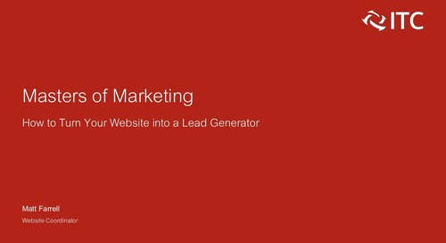 How to Turn Your Website into a Lead Generator
