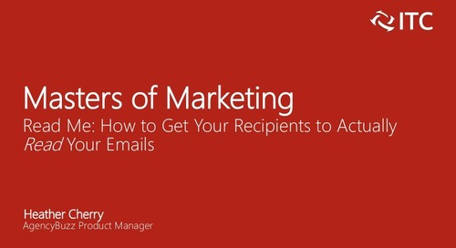 Read Me: How to Get Your Recipients to Actually Read Your Emails