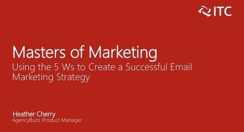 Using the 5 Ws to Create a Successful Email Marketing Strategy