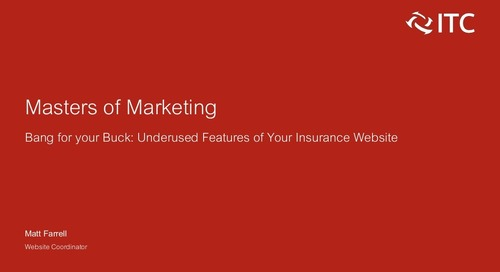 Band For Your Buck: Underused Features of Your Insurance Website
