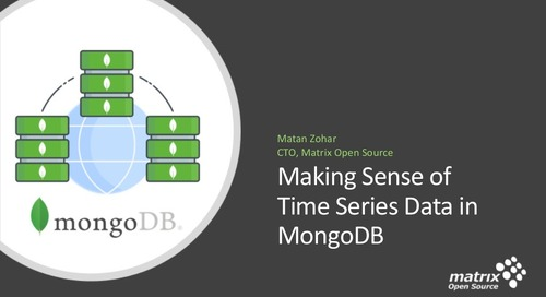 Making Sense of Time Series Data in MongoDB