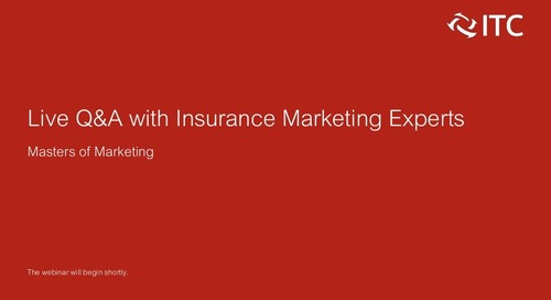 Live Q&A with Insurance Marketing Experts