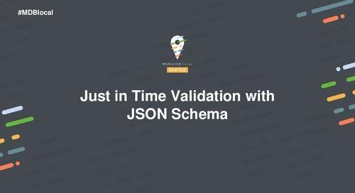 Data Governance with JSON Schema