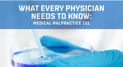 Medical Malpractice 101- Part One