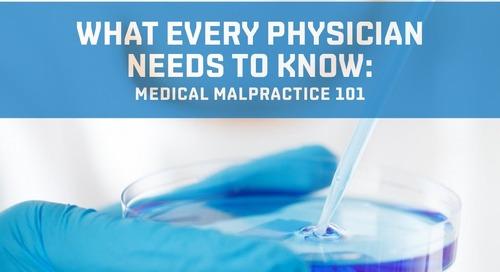 Medical malpractice 101, Part 2
