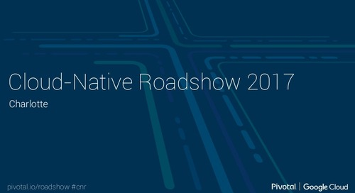 Cloud-Native Roadshow - Microservices - Charlotte