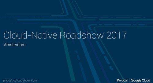 Cloud-Native Roadshow - Microservices - Amsterdam