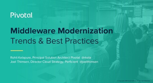 Why Your Digital Transformation Strategy Demands Middleware Modernization