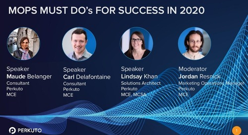 MOPS Must Do's for Success in 2020