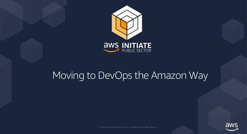 Moving to DevOps