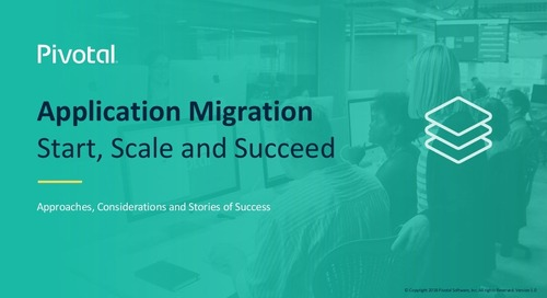 Application Migration: How to Start, Scale and Succeed