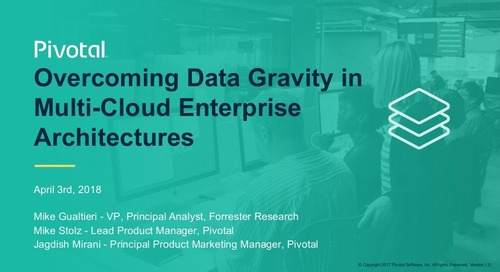 Overcoming Data Gravity in Multi-Cloud Enterprise Architectures