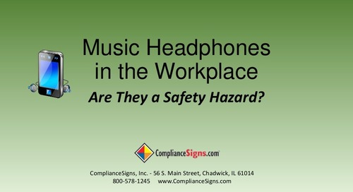 Music Headphones in the Workplace: Are They a Safety Hazard?