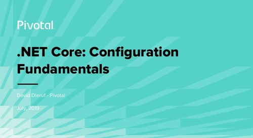 Learn Cloud-Native .NET: Core Configuration Fundamentals with Steeltoe