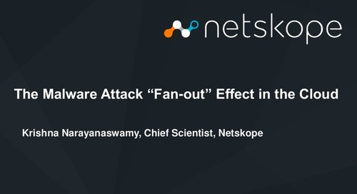 "The Malware Attack ""Fan-out"" Effect in the Cloud"
