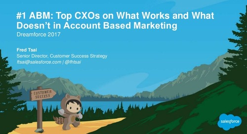 Top CXOs on What Works and What Doesn't in Account Based Marketing  |  Engagio