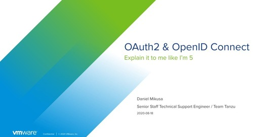 Explain it to Me Like I'm 5: Oauth2 and OpenID