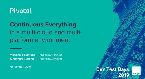 Continuous Everything in a Multi-cloud and Multi-platform Environment