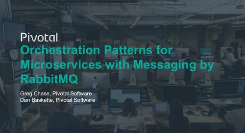 Orchestration Patterns for Microservices with Messaging by RabbitMQ