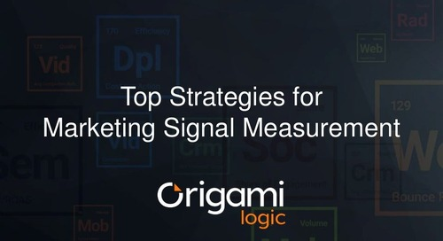 Top Strategies for Marketing Signal Measurement