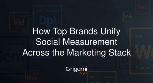 How Top Brands Unify Social Measurement Across the Marketing Stack