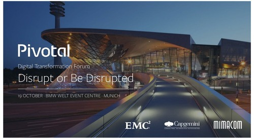 Pivotal Digital Transformation Forum: Welcome