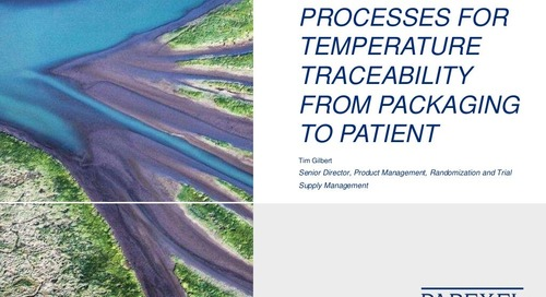 Improving Processes for Temperature Traceability from Packaging to Patient