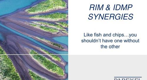 RIM & IDMP Synergies