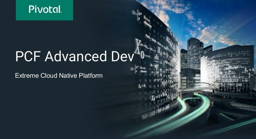 PCF Cloud-Native Workshop Slides
