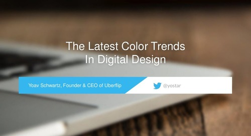 The Latest Color Trends In Digital Design
