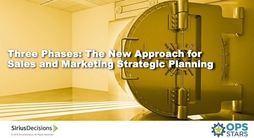 Three Phases: The New Approach for Sales and Marketing Planning.