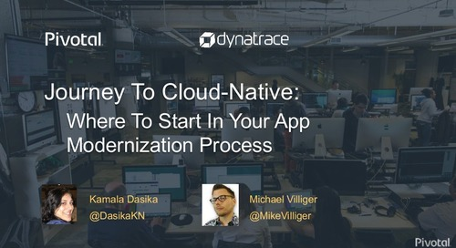 Journey to Cloud-Native: Where to start in your app modernization process