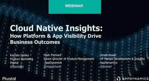 Cloud-Native Insights: How Platform & App Visibility Drive Business Outcomes