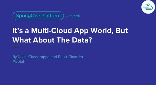 It's a Multi-Cloud World, But What About The Data?