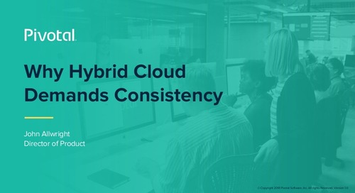 Why Hybrid Cloud Demands Consistency