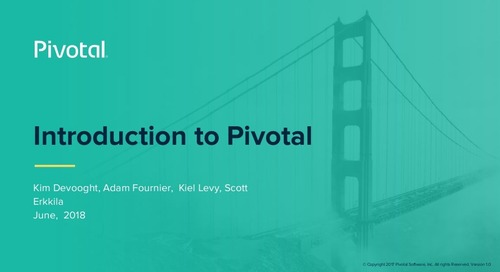 Pivotal Overview: Canadian Team