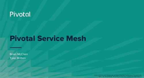 Making Microservices Smarter with Istio, Envoy and Pivotal Service Mesh