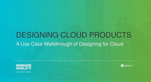 Designing Cloud Products