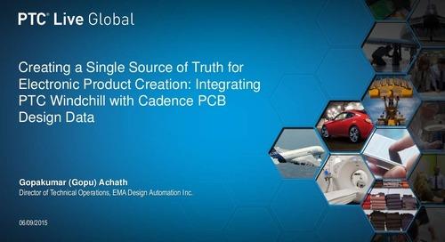 PTC Live: Integrating PTC Windchill with Cadence PCB Design
