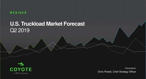 SlideShare: Q1-2 2019 U.S. Freight Market Forecast