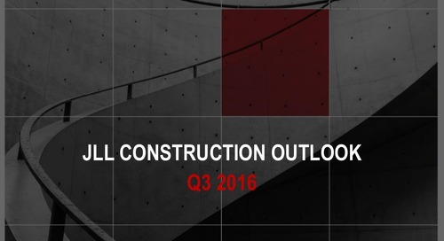 U.S. Construction trends and outlook (Q3 2016)