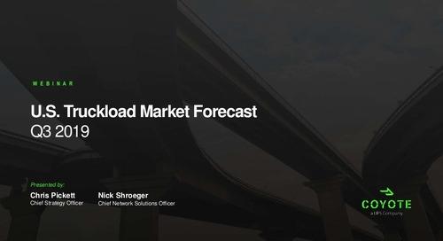 SlideShare: Q3 U.S. Freight Market Forecast