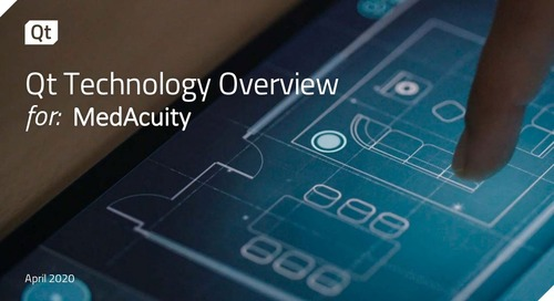 Qt Technology Overview for: MedAcuity