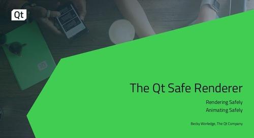 Qt Safe Renderer and Top 5 Qt Questions