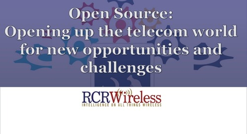 Open Source:  Opening up the telecom world for new opportunities and challenges