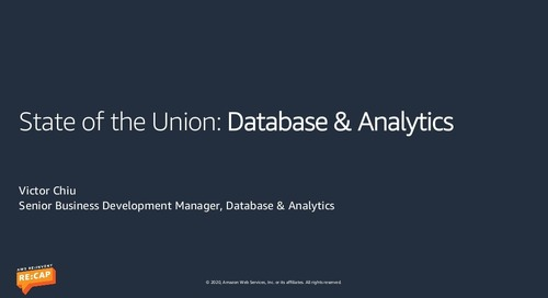 State of the Union: Database & Analytics